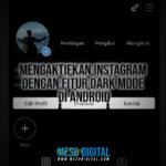 Cara Mengaktifkan Instagram dengan fitur Dark Mode di Android